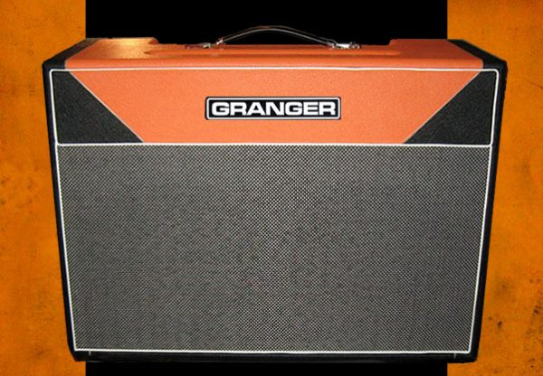 Granger M50 Plexi 212 combo in black and orange