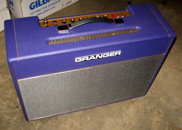 Granger M50 Plexi 212 combo in purple