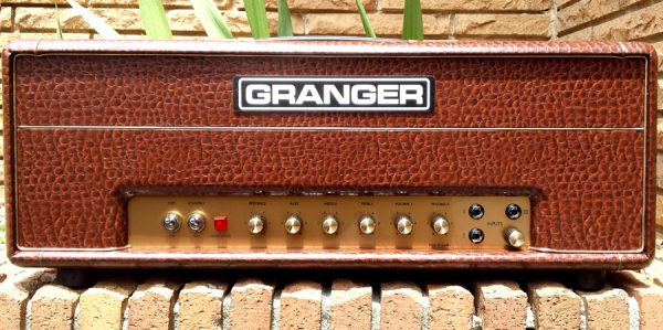 Granger M50 Plexi in Brown Gator