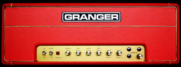 Granger M50 Plexi Red & Gold