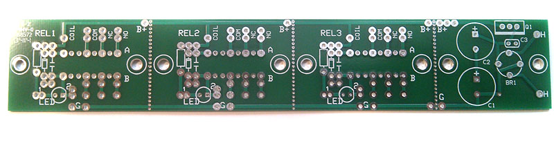 3 Relay Switching PCB