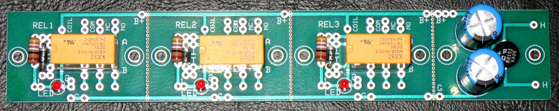 3 Relay Switching Board (Ver 2)