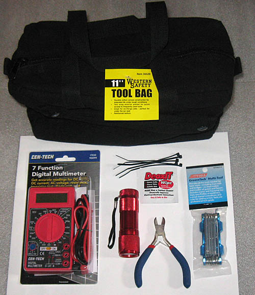 Guitar & Amp Gig Tool Kit