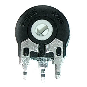 Trimmer Resistor - Piher, 15mm, Vertical Mount