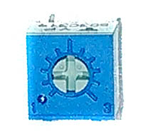 "Trimmer Resistor - 50K, Vishay, 1/4"" Square"