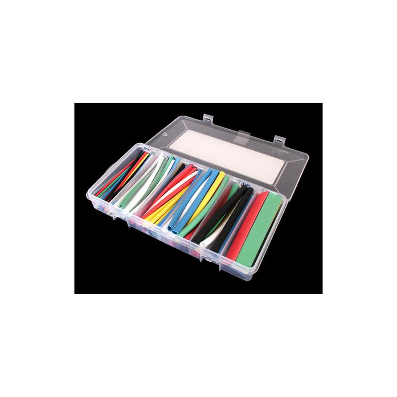 Heat Shrink Tubing Assortment, 154 Pcs, Multi-color