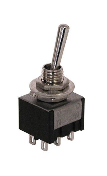 Switch - DPDT ON-ON Mini Toggle