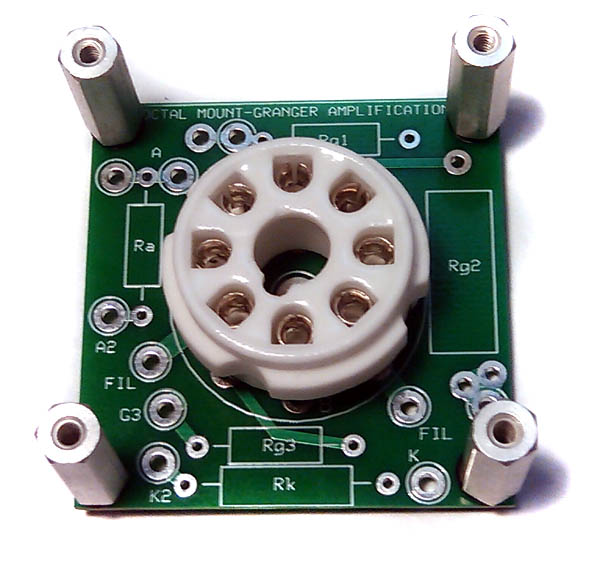 Octal Socket PCB Kit, with Hardware