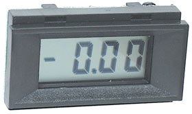 3-1/2 Digit LCD Panel Meter, Multifunction PM128