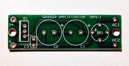 Voltage Regulated Power Supply PCB