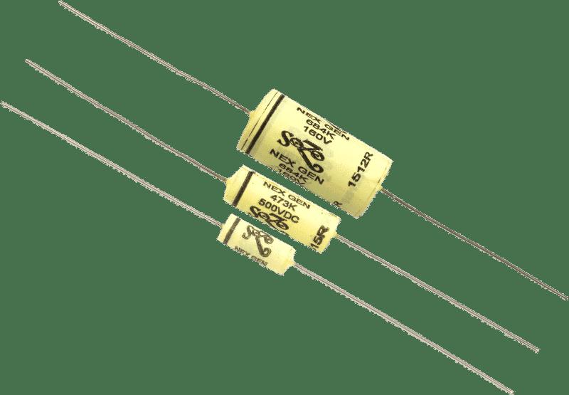 .001uF Sozo, NextGen Yellow Mustard Vintage, 500V