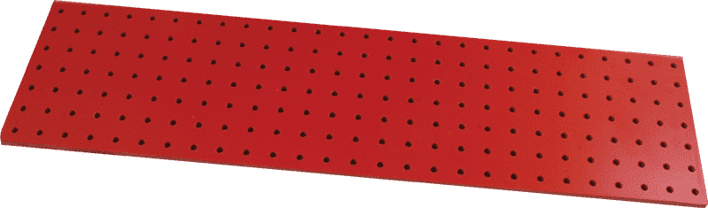 Turret Board - Blank, 189 Holes, 258mm x 67mm