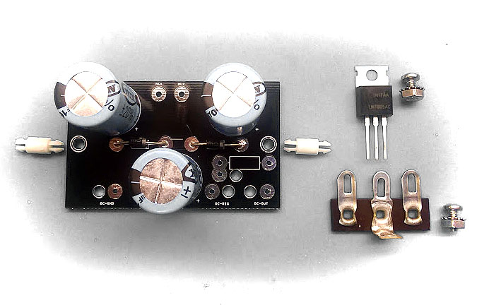DC Filament Regulated Power Supply