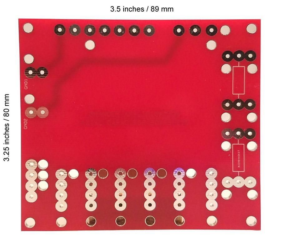 Axial Capacitor Board